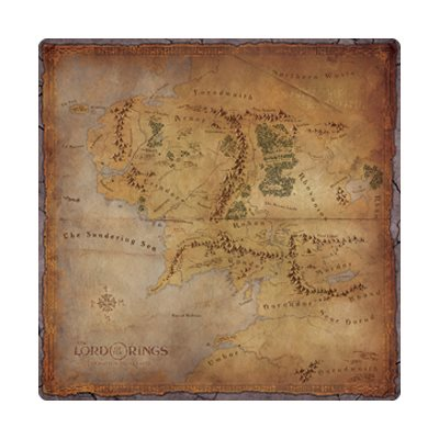 The Lord of The Rings: Playmat: Journeys In Middle-Earth