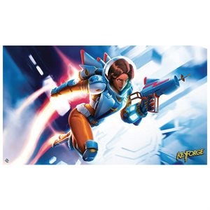 Keyforge: Playmat: Tactical officer Moon