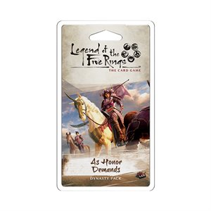 Legend of the Five Rings LCG: As Honor Demands Dynasty Pack ^ SEP 4 2020