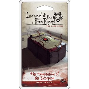 Legend of the Five Rings LCG: The Temptation of The Scorpion