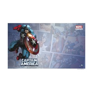 Marvel Champions LCG: Playmat: Captain America