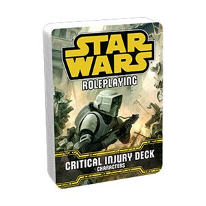 Star Wars Roleplaying Game: Critical Injury Deck