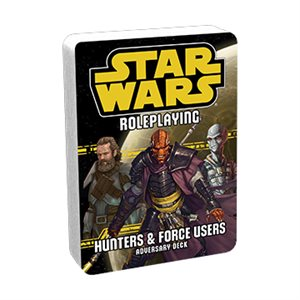 Star Wars Roleplaying Game: Hunters & Force Users Adversary Deck