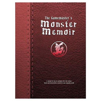 Gamemasters Journal: Monster Memoir (BOOK)