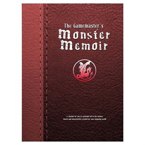 Gamemaster's Journal: Monster Memoir (BOOK)