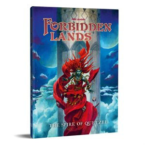 Forbidden Lands: Quetzels Spire Scenario (BOOK)