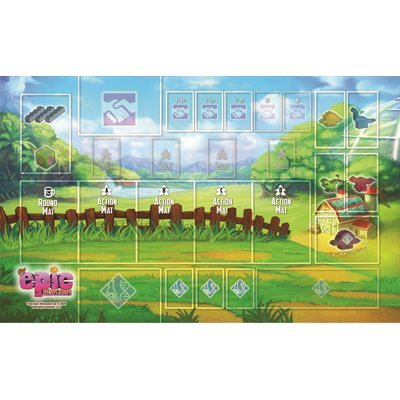 Tiny Epic Dinosaurs: Playmat (No Amazon Sales)