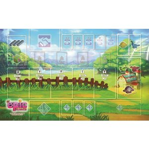 Tiny Epic Dinosaurs: Playmat (No Amazon Sales)