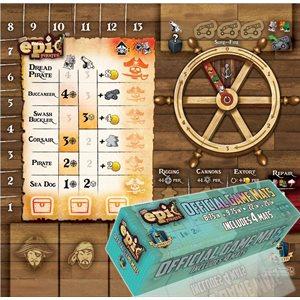 Tiny Epic Pirates: Player Mat Set (4 Pack) (No Amazon Sales)