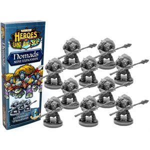 Heroes of Land Air and Sea - Expansion Nomands (no amazon sales) ^ April 1 2019