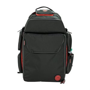 Geekon Backpack: Black and Red