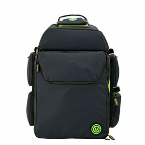 Geekon Backpack: Navy Blue and Green