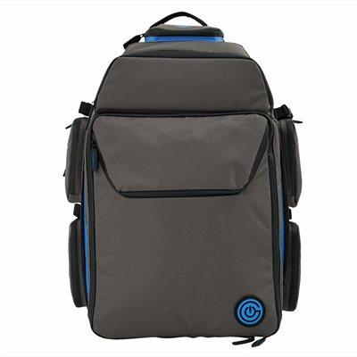 Geekon Backpack: Grey and Royal Blue