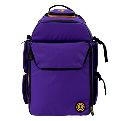 Geekon Backpack: Purple and Gold