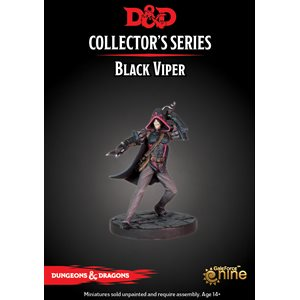 Dungeons & Dragons: Waterdeep Dragon Heist Mini - Black Viper