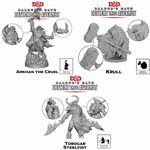 Dungeons & Dragons: Baldurs Gate: Descent Into Avernus Mini - Arkhan, Torogar & Krull (3 pcs) ^ NOV