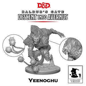 Dungeons & Dragons: Baldurs Gate: Descent Into Avernus Mini - Yeenoghu ^ 2020