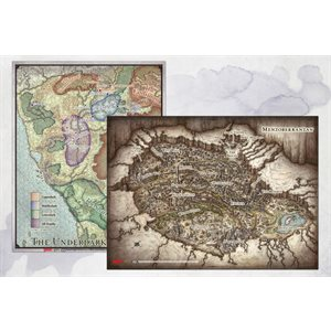 Dungeons & Dragons: Out of Abyss Map Set (2pc) (23x16 in, 20x16 in)