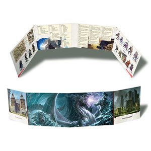 Dungeons & Dragons: Horde of the Dragon Queen DM Screen