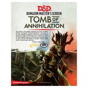 Dungeons & Dragons: Tomb of Annihilation DM Screen