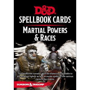 Dungeons & Dragons: Spellbook Cards Martial Powers and Races