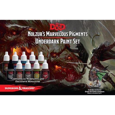 Nolzur's Marvelous Pigments: Underdark Paint Set ^ Q4 2019