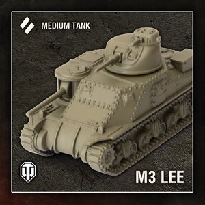 World of Tanks: Wave 1 Tank - American (M3 Lee) - Medium Tank