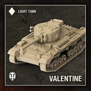 World of Tanks: Wave 1 Tank - British (Valentine) - Light Tank