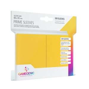 Sleeves: Gamegenic Prime Sleeves: Yellow (100)