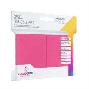 Sleeves: Gamegenic Prime Sleeves: Pink (100)