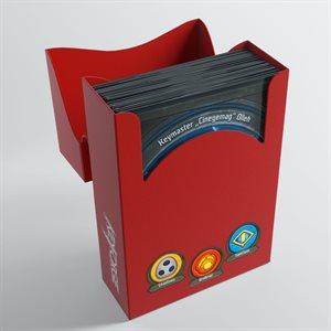 Deck Box: Keyforge Aries: Red (40ct)