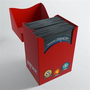 Deck Box: Keyforge Gemini: Red (80ct)