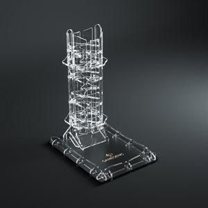 Crystal Twister Premium Dice Tower