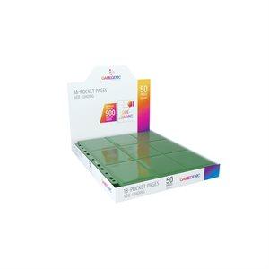 Pages: Sideloading 18-Pocket Display - Green (50)