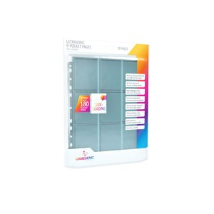 Pages: Ultrasonic Sideloading 9-Pocket - Clear (10)