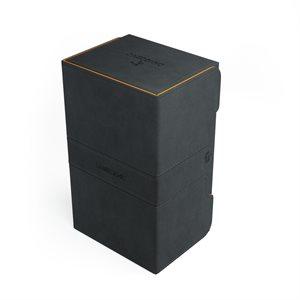 Deck Box: Stronghold Convertible XL Exclusive Line Black / Orange (200ct)