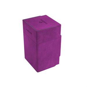 Deck Box: Watchtower Convertible Purple (100ct)