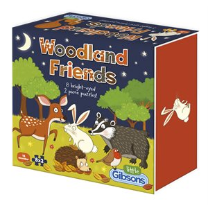 Puzzle: 2 Woodland Friends (8 Puzzles)