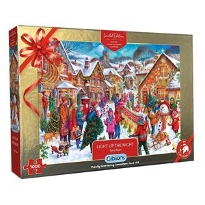 Puzzle:1000 Christmas Limited Edition Puzzle: Light Up the Night ^ OCT 2021