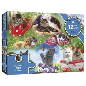 Puzzle: 12XXL Cats