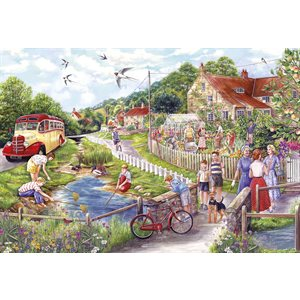 Puzzle: 250XL Summer by the Stream