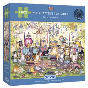 Puzzle: 250XL Mad Catter's Tea Party