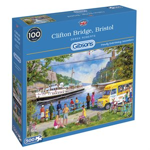 Puzzle: 500 Clifton Bridge, Bristol