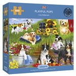 Puzzle: 500 Playful Pups
