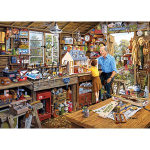 Puzzle: 500XL Grandad's Workshop