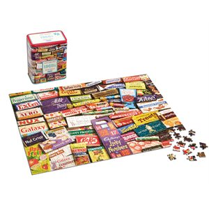 Puzzle: 500 1960S Sweet Memories Gift Tin