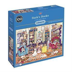 Puzzle: 1000 Bark's Books