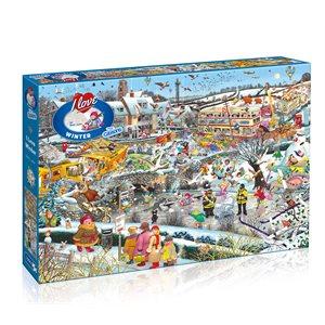 Puzzle: 1000 I Love Winter