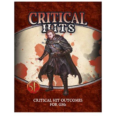 Critical Hit Deck for GMs (5E)