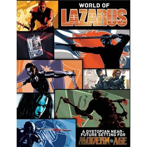 Modern Age RPG: The World of Lazurus (BOOK)